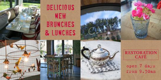 New menus Restoration Café image