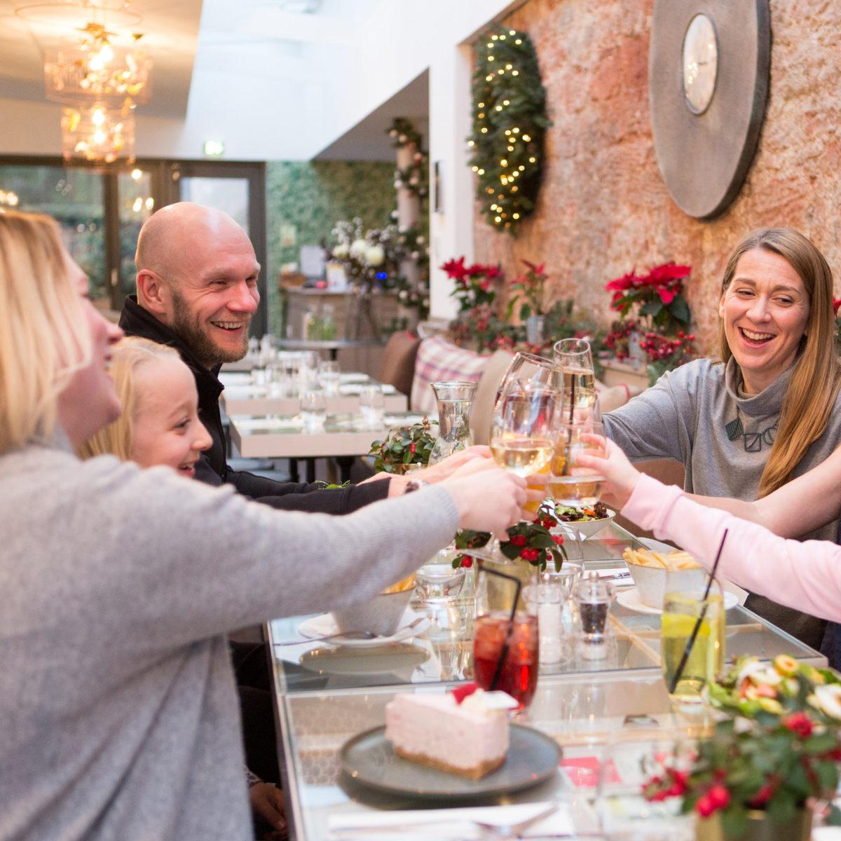 Celebrate Christmas at Restoration Cafe