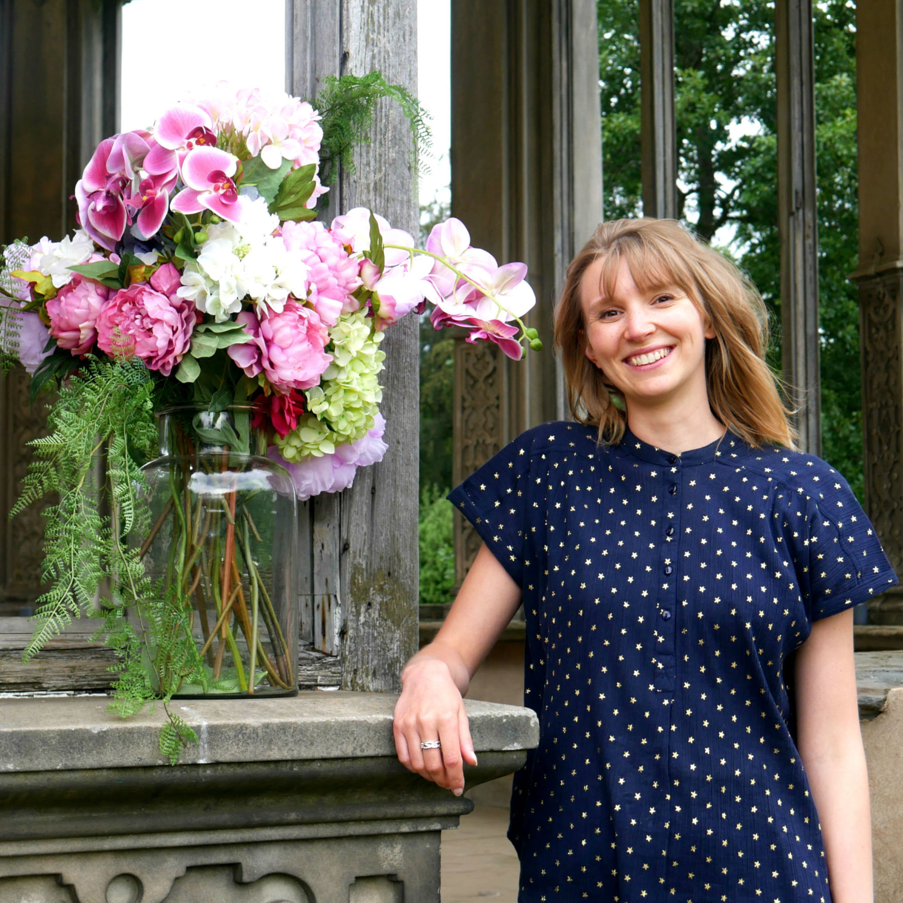 Meet Thea Griffiths, our Wedding & Events Coordinator at Restoration Yard, Dalkeith Country Park