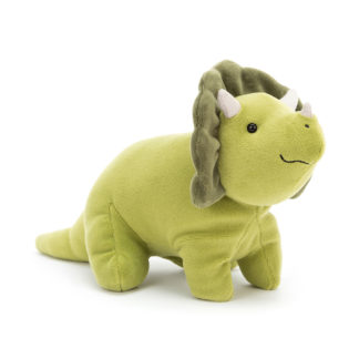 Mellow Mallow Triceratops Small Soft Toy by Jellycat