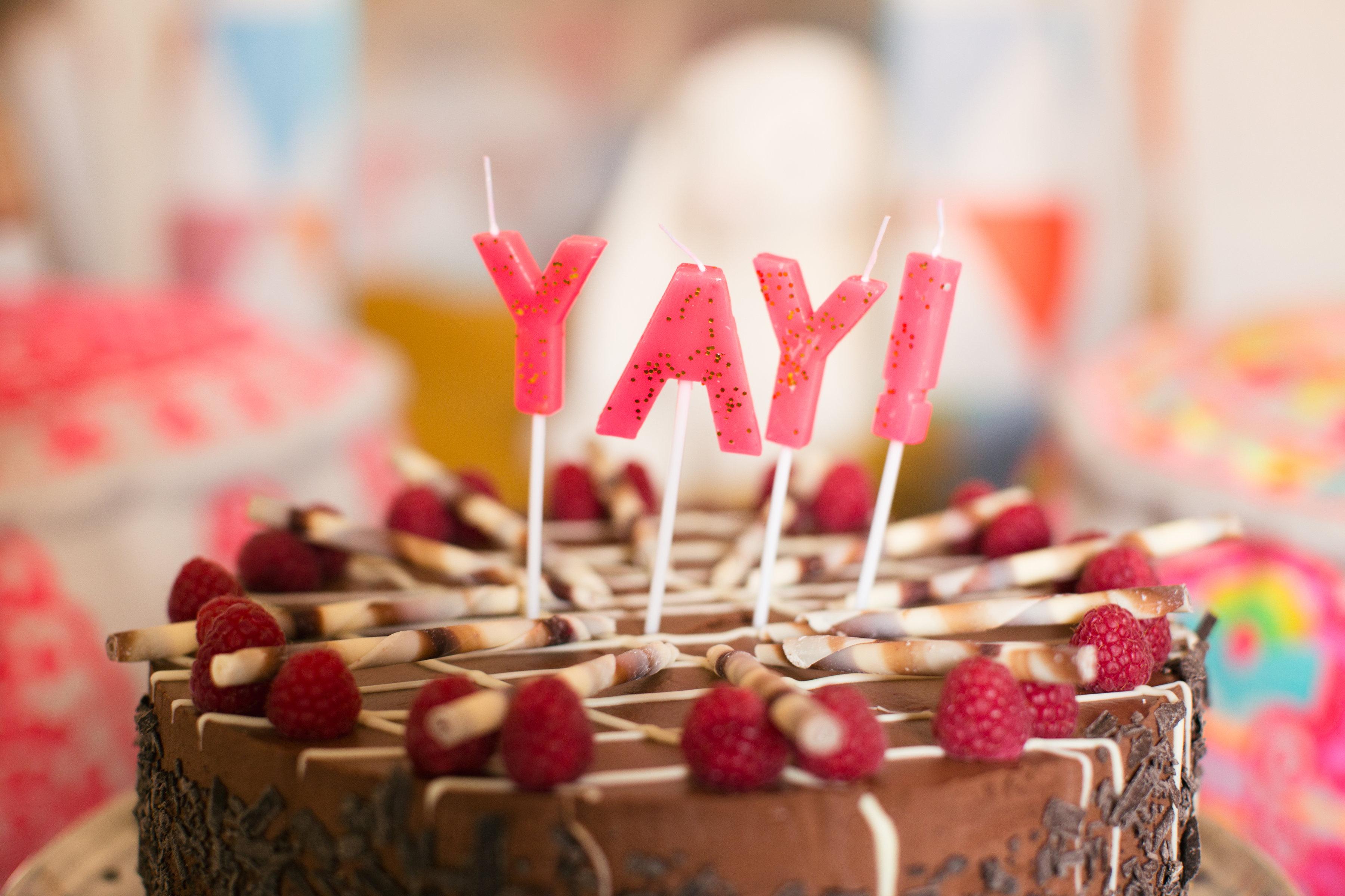 Birthday celebration at Restoration Yard