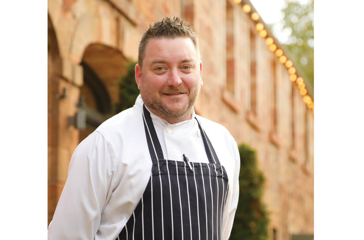 Head Chef Colin Halliday at Restoration Yard