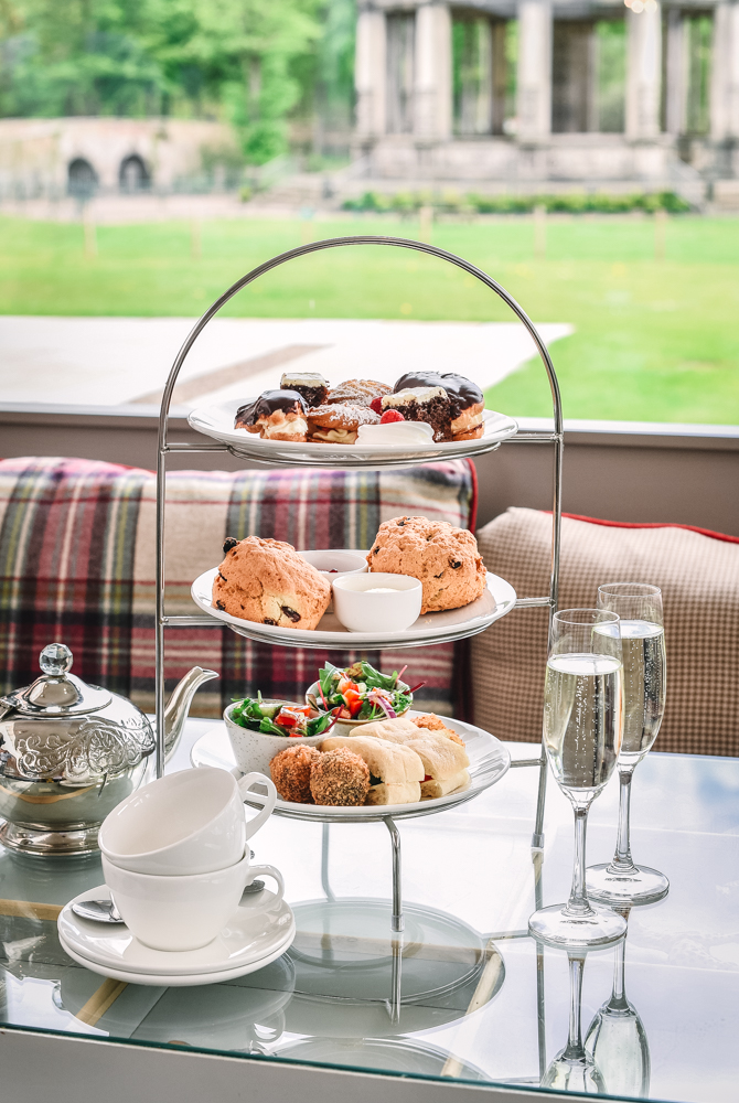 Private afternoon tea experience at Restoration Yard