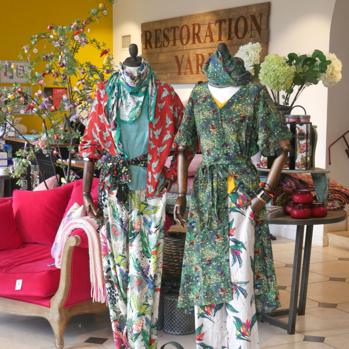 Womenswear in The Store at Restoration Yard