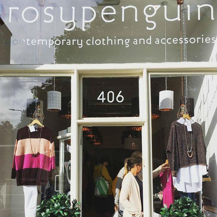 Shop in Rosy Penguin Edinburgh