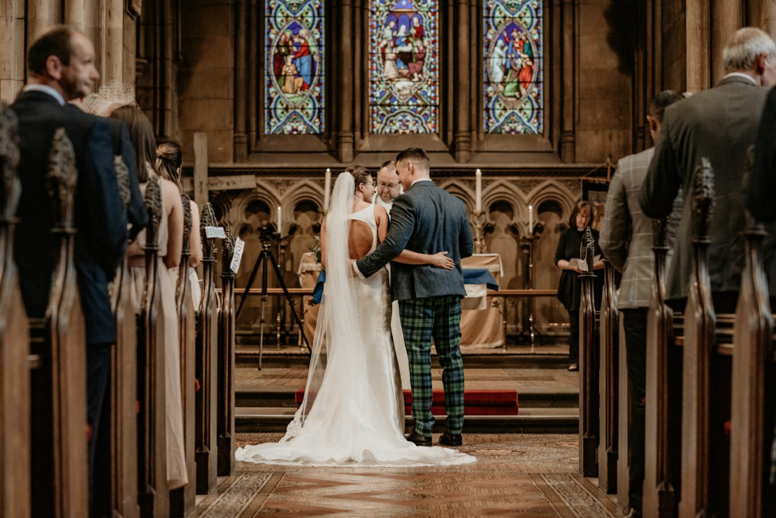 St Mary's Church Wedding at Dalkeith Country Park