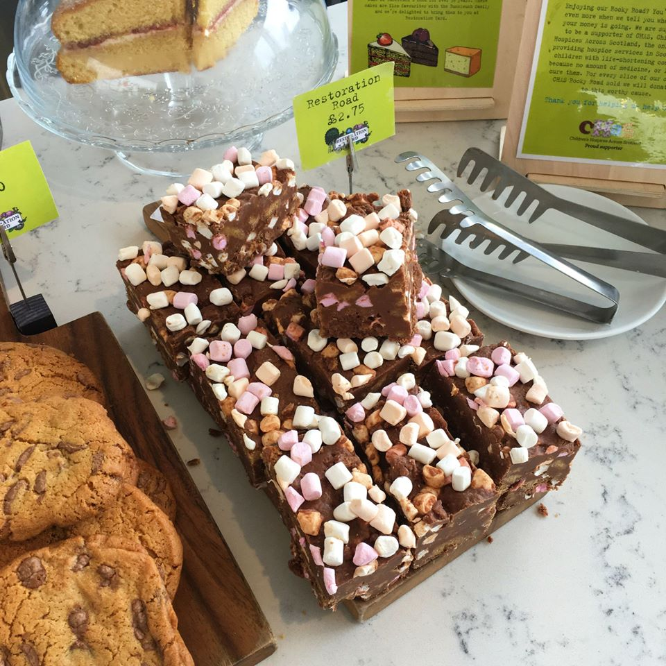 'Restoration' Rocky Road at The Coffee Bar, Restoration Yard