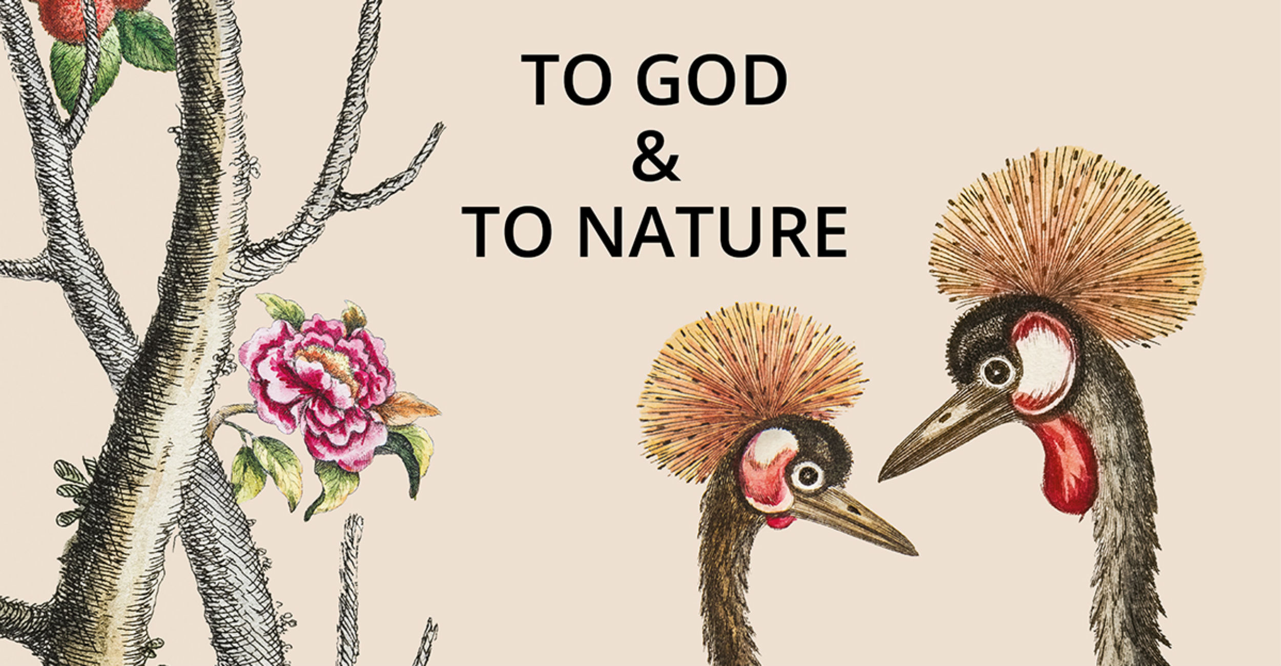 Blog - Walter Dalkeith To God And To Nature Exhibition