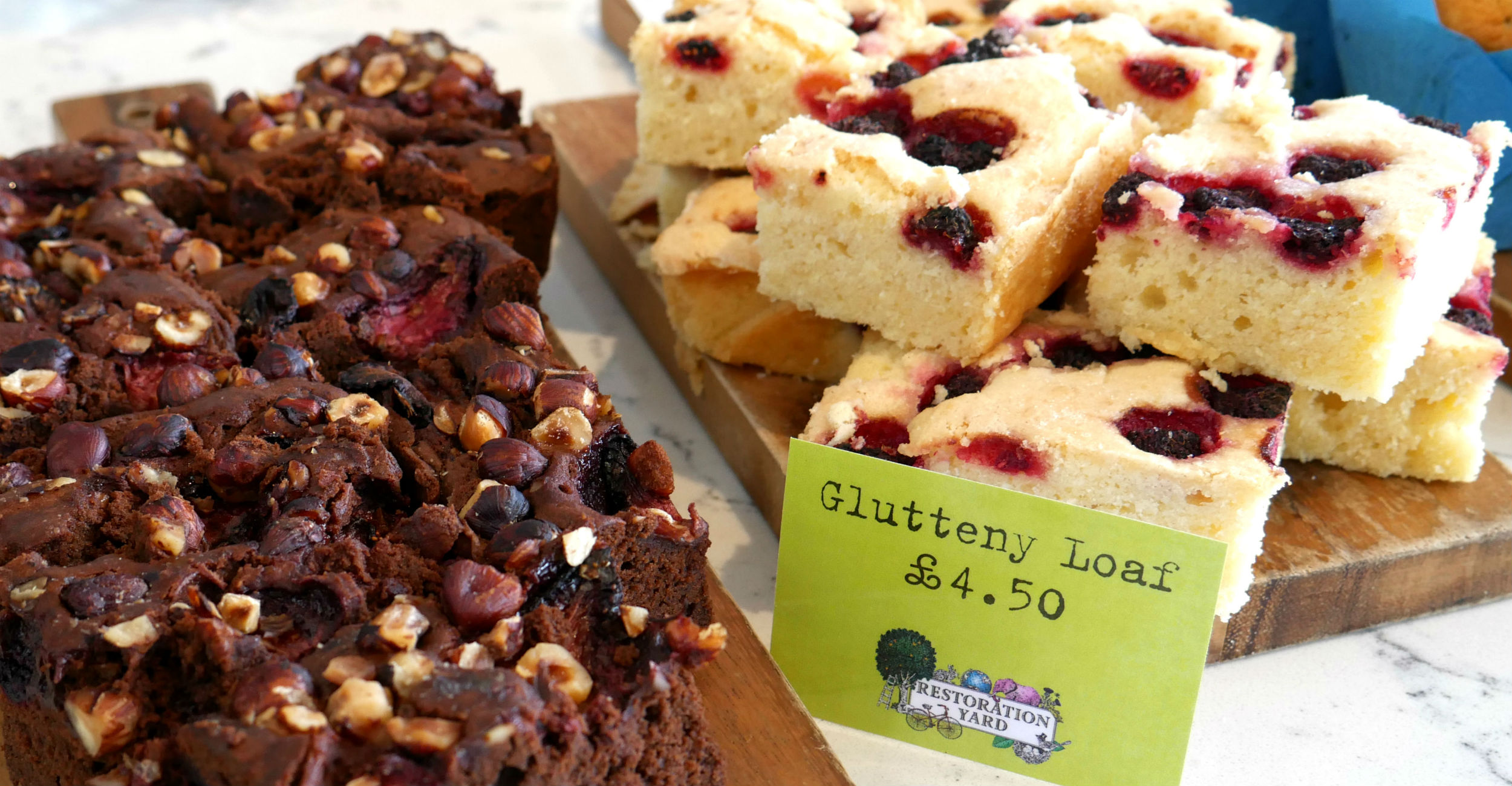 Vegan and Gluten Free Cakes at The Coffee Bar