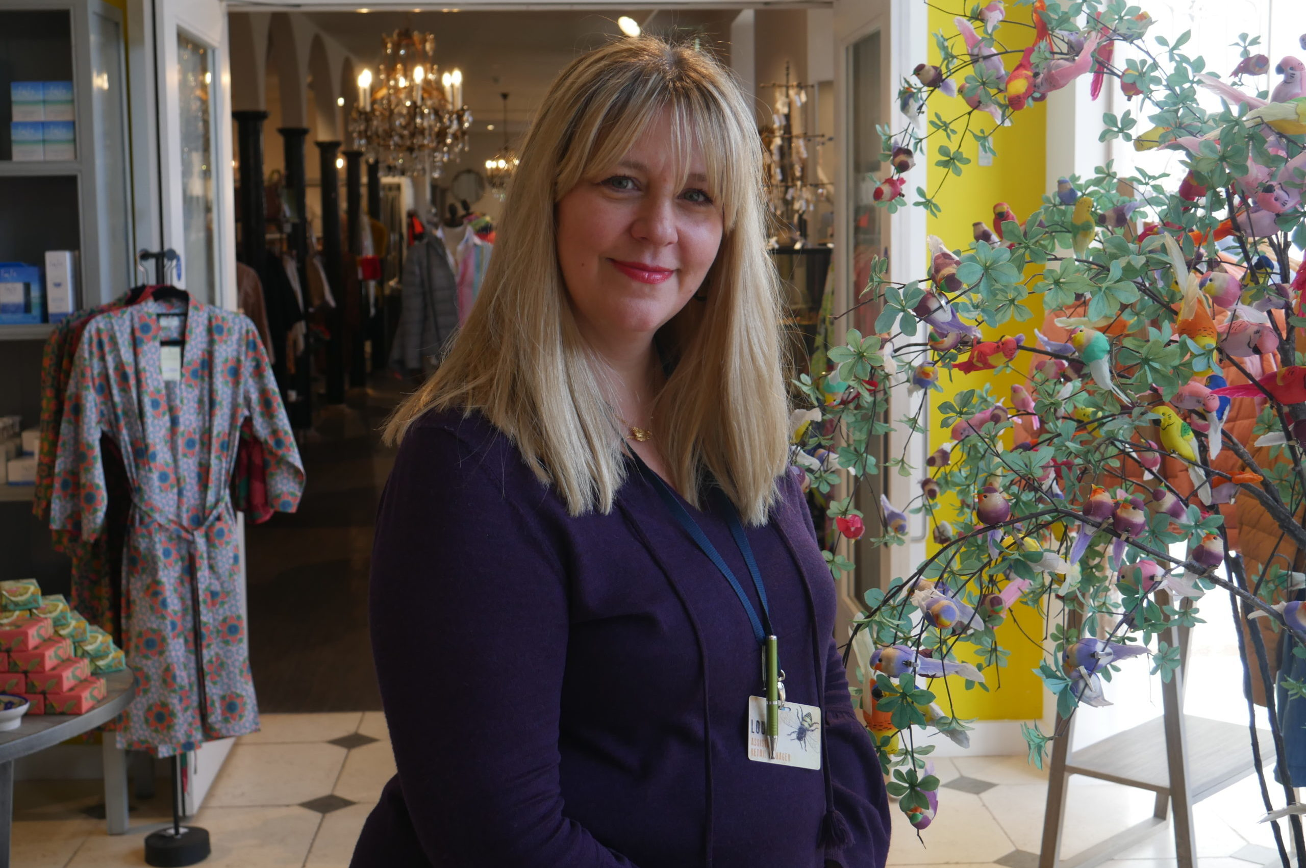 Louise Aylesbury manager at The Store at Restoration Yard
