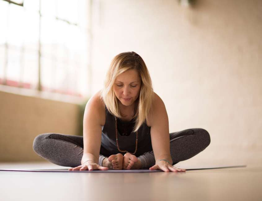 Online Yoga Class at Wellbeing Lab Restoration Yard
