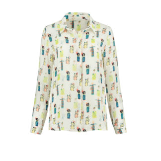 Lucky Charms Ercu Blouse by Pom Amsterdam | Restoration Yard