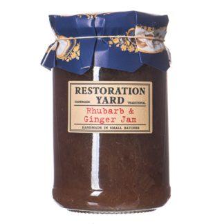 Restoration Yard Rhubarb and Ginger Jam
