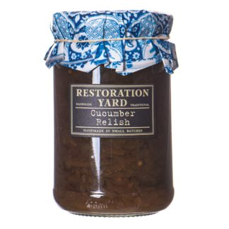 Restoration Yard Cucumber Relish