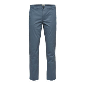 Straight Paris Pants Captains Blue by Selected Homme | Restoration Yard