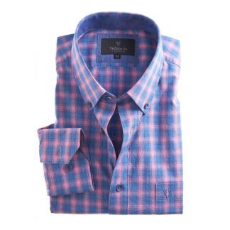 Vedoneire Soft Wash Cotton Shirt Majorelle