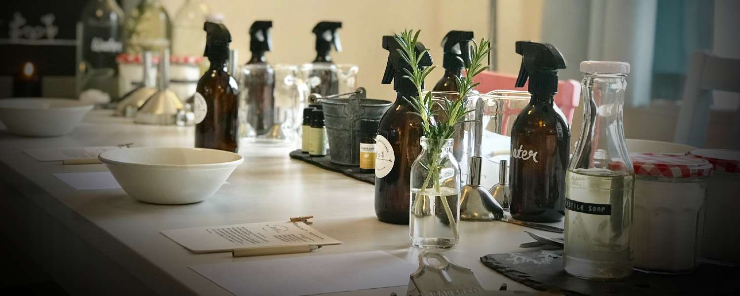 Natural Cleaning Products Workshop