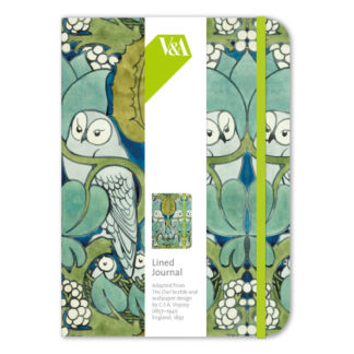 Owl Lined Journal by Museums and Galleries | Restoration Yard