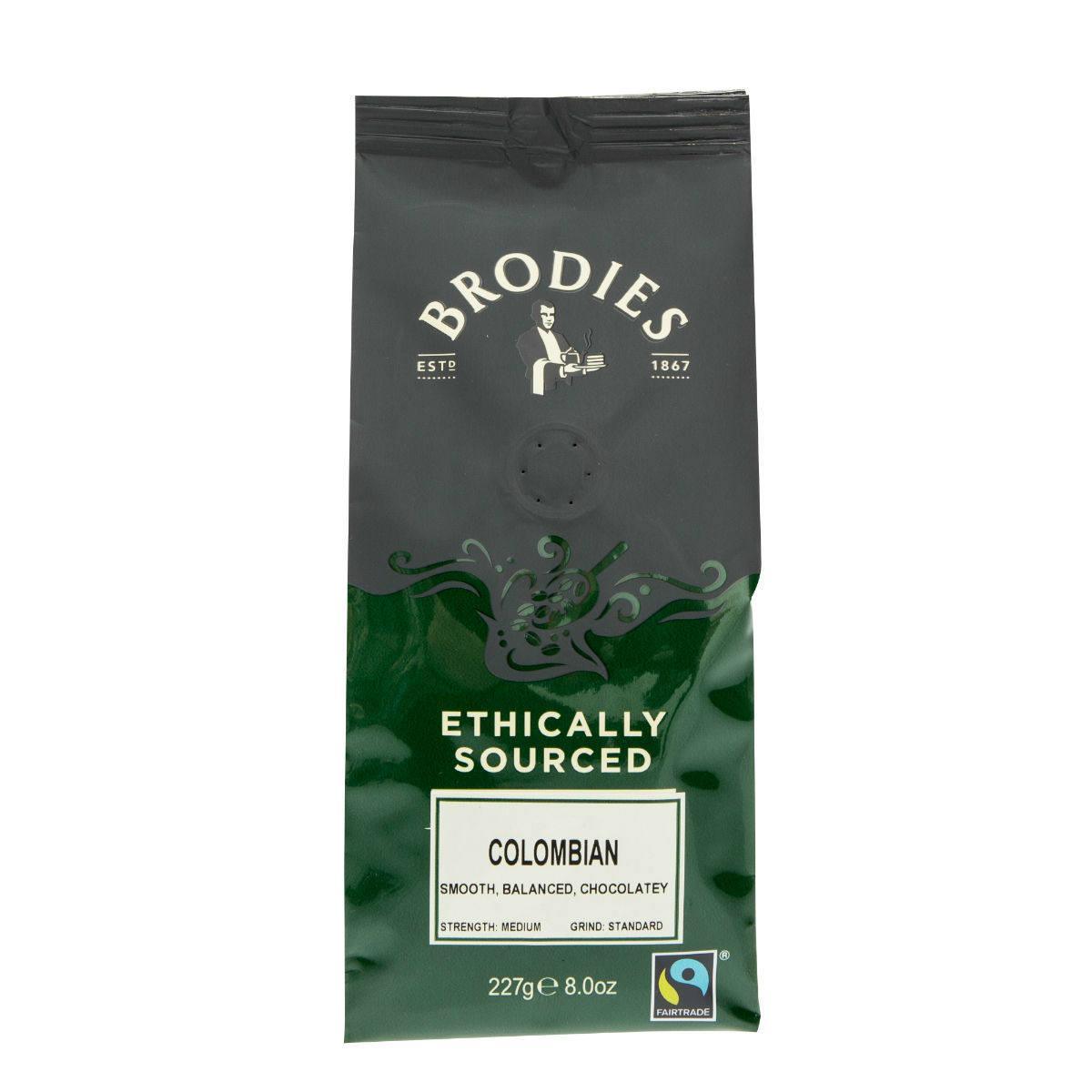 Brodies Fairtrade Colombian Coffee | Restoration Yard