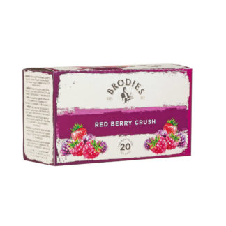 Brodies Red Berry Crush Tea Bags | Brodies Tea | Restoration Yard