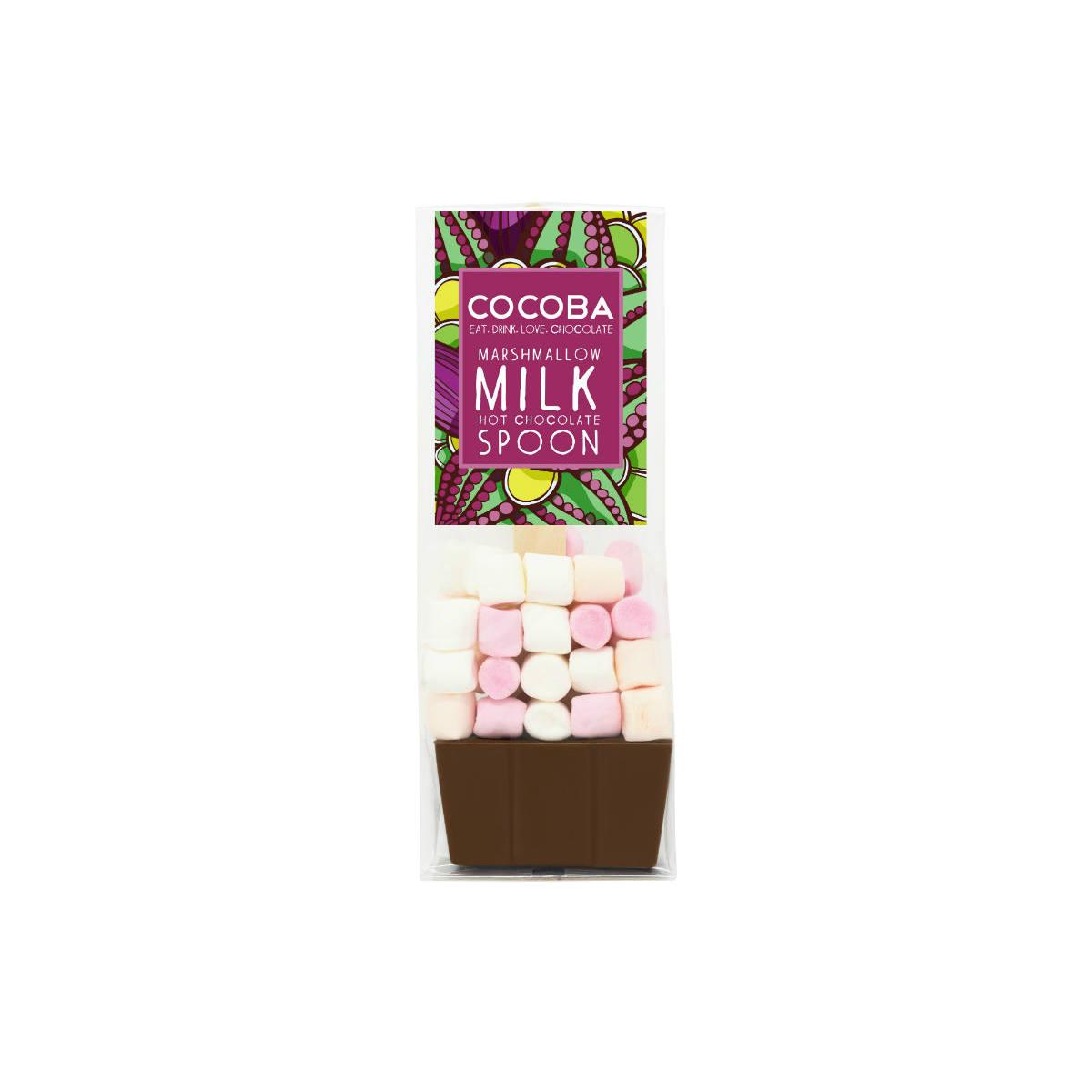 Cocoba Hot Choc Spoon Marshmallow Milk   Restoration Yard