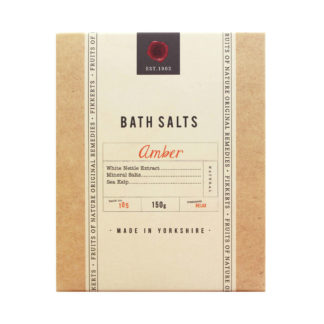 Fikkerts Fruits of Nature Amber Bath Salts | Restoration Yard