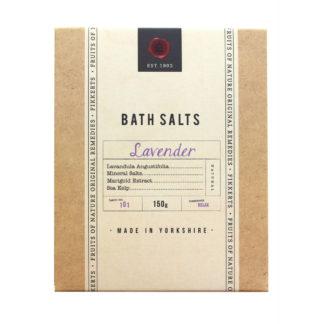 Fikkerts Fruits of Nature Lavender Bath Salts   Restoration Yard