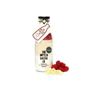 Bottled Baking Co White Chocolate Raspberry Traybake   Restoration Yard