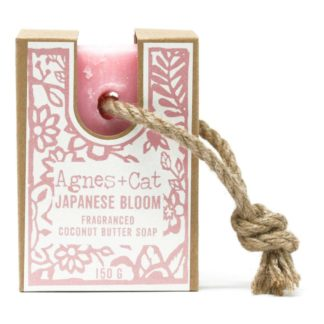 Agnes and Cat Japanese Bloom Soap on a Rope | Restoration Yard