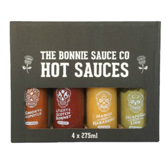 Bonnie Sauce Company Gift Pack 4*275ml bottles | Restoration Yard