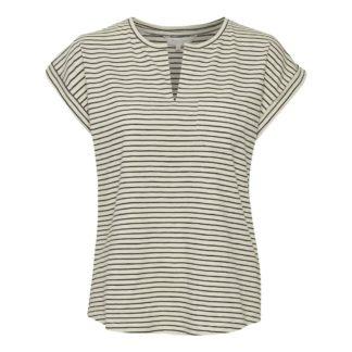 Part Two Clothing Kedita Top in Dark Navy Stripe | Restoration Yard