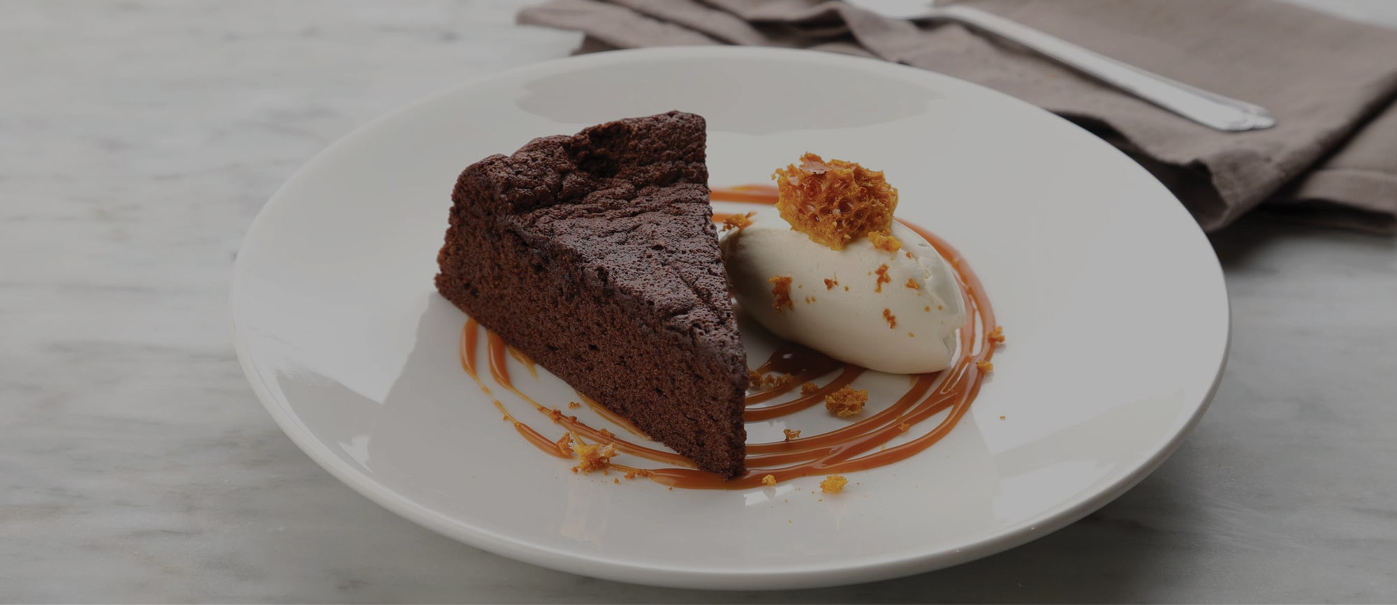 Soft Chocolate Cake with Crème Fraîche and Honeycomb  Recipe – The Kitchen