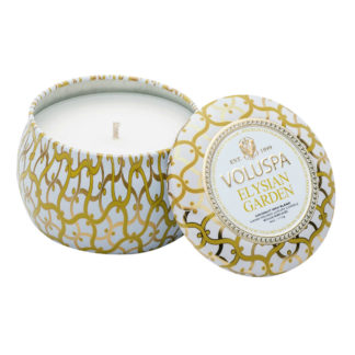 Elysian Garden Mini Tin Candle By Voluspa | Restoration Yard