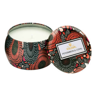 Japonica Persimmon Copal Mini Tin Candle By Voluspa | Restoration Yard