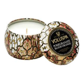 Noir Pomegranate Mini Tin Candle By Voluspa | Restoration Yard