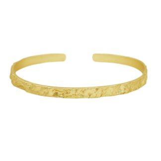 Dansk Copenhagen Amber Slim Bracelet Gold Plating | Restoration Yard