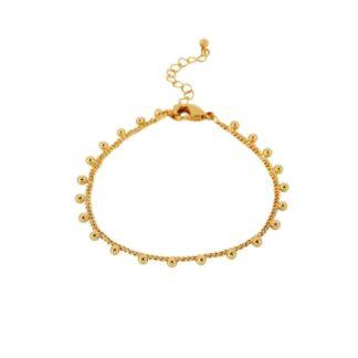 Dansk Copenhagen Indian Round Bracelet Gold Plating | Restoration Yard