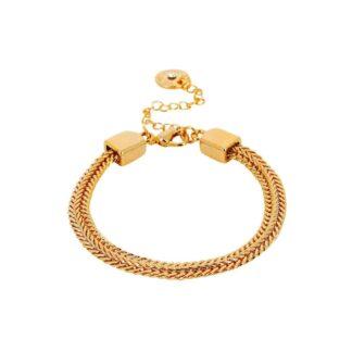 Dansk Copenhagen Indian Summer Chain Bracelet Gold Plating | Restoration Yard