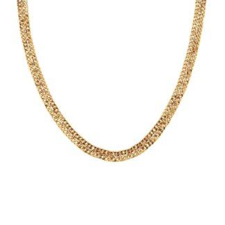 Dansk Copenhagen Infinity Double Necklace Gold Plating | Restoration Yard