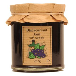 Blackcurrant Jam with Sloe Gin by Edinburgh Preserves | Restoration Yard