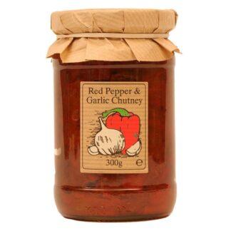 Red Pepper and Garlic Chutney by Edinburgh Preserves | Restoration Yard