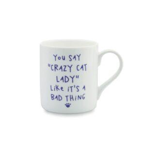 Crazy Cat Lady Mug by Mclaggan Smith Mugs | Restoration Yard