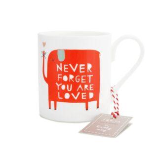 Never Forget You Are Loved Mug | Restoration Yard
