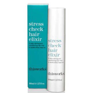 This Works Stress Check Hair Elixir 80ml | Restoration Yard