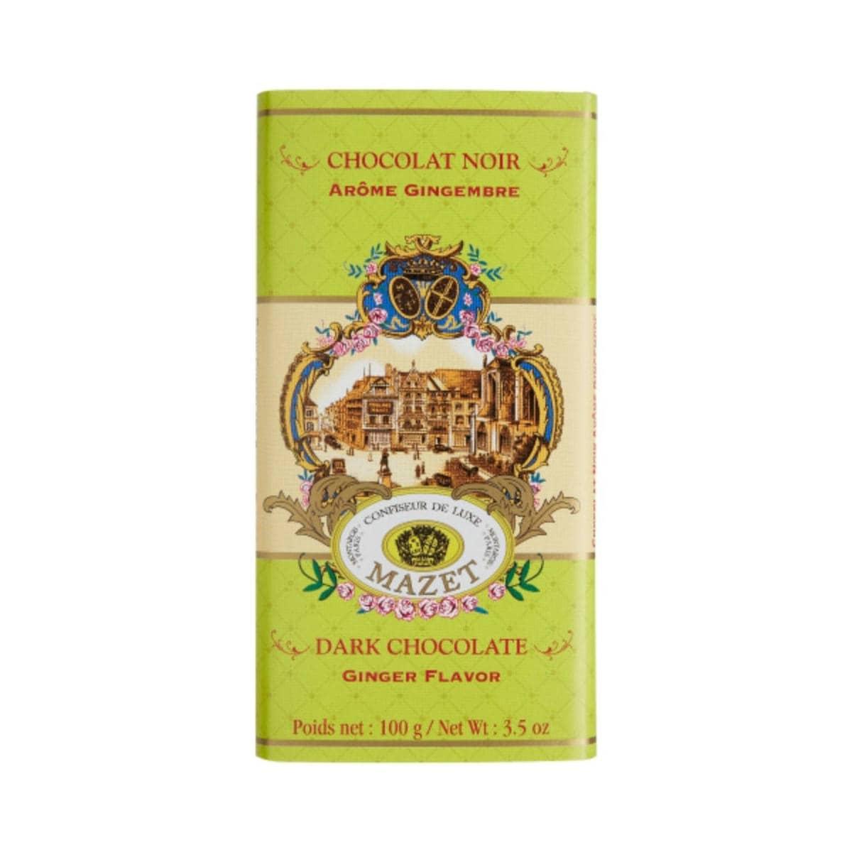 Mazet Confiseur Dark Chocolate Ginger | Restoration Yard
