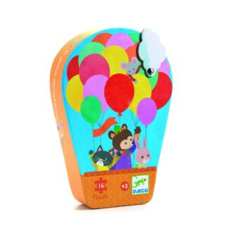 Djeco Silhouette Puzzle Hot Air Balloon | Restoration Yard