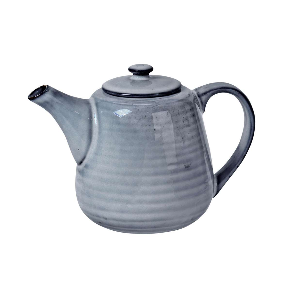 Broste Copenhagen Teapot in Nordic Sea Blue