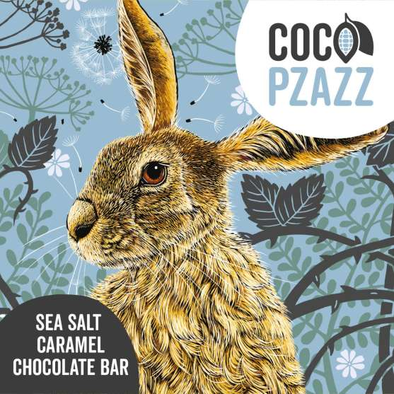 Coco Pzazz Fox & Boo Hare Salted Caramel Milk