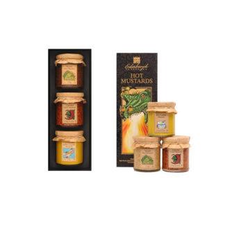 Hot Mustards Gift Set by Edinburgh Preserves | Restoration Yard