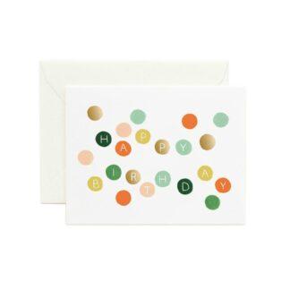Birthday Dots Greeting Card by Rifle Paper | Restoration Yard